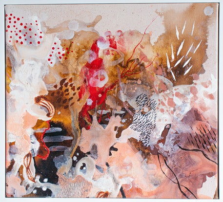(CreativeWork) I'm Talking To You by Doulene Walker. Mixed Media. Shop online at Bluethumb.