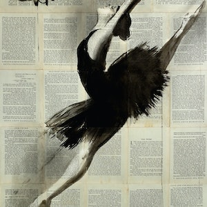 (CreativeWork) IN FLIGHT by loui jover. drawing. Shop online at Bluethumb.