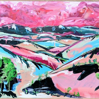 (CreativeWork) Shepherds Delight by Aidan Weichard. Mixed Media. Shop online at Bluethumb.