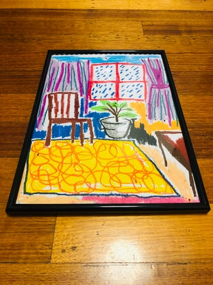 (CreativeWork) Room with a view  by Shane Bonsujet. Drawings. Shop online at Bluethumb.