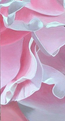 (CreativeWork) Forever Roses by Patricia Hillard. Acrylic Paint. Shop online at Bluethumb.