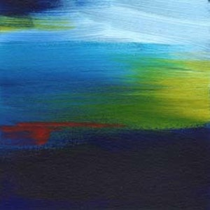 (CreativeWork) Over the Wing by Narelle Callen. arcylic-painting. Shop online at Bluethumb.