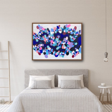 (CreativeWork) DAYLIGHT  by Sarah McIntosh. Acrylic Paint. Shop online at Bluethumb.