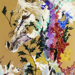 (CreativeWork) Equus - Extravaganza by Christine Lawrence. other-media. Shop online at Bluethumb.