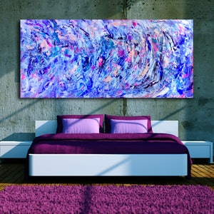 (CreativeWork) In Motion by Estelle Asmodelle. arcylic-painting. Shop online at Bluethumb.