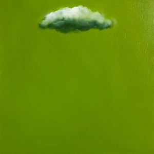 (CreativeWork) Irish Sky by Donna Christie. oil-painting. Shop online at Bluethumb.