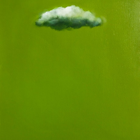 (CreativeWork) Irish Sky by Donna Christie. Oil Paint. Shop online at Bluethumb.