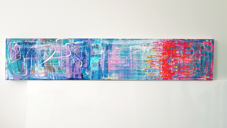 (CreativeWork) SMOOTH  TRANSITION by Basia Kilian. Acrylic Paint. Shop online at Bluethumb.