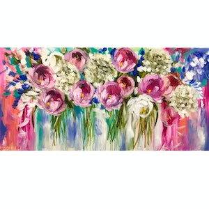 (CreativeWork) splendour in the sun  by Amanda Brooks. arcylic-painting. Shop online at Bluethumb.