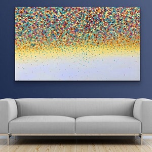 (CreativeWork) Sunset Petals  by Theo Papathomas. oil-painting. Shop online at Bluethumb.