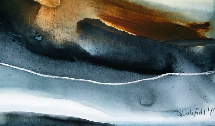 (CreativeWork) Lugano by Dinah Wakefield. Acrylic Paint. Shop online at Bluethumb.