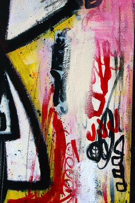 (CreativeWork) Don't talk to strangers by James Lai. Mixed Media. Shop online at Bluethumb.