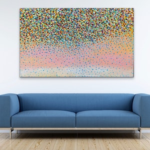 (CreativeWork) Sunrise Petals   by Theo Papathomas. oil-painting. Shop online at Bluethumb.