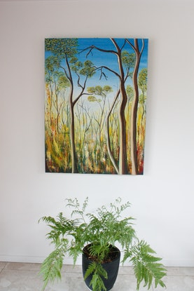 (CreativeWork) Jewels of the Bush by Corinne Young. #<Filter:0x00007f7c74b08a90>. Shop online at Bluethumb.