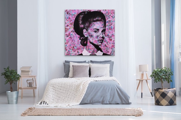 (CreativeWork) Magnificent in Magenta by Polly Johnstone. #<Filter:0x00005558ca33b468>. Shop online at Bluethumb.