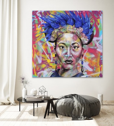 (CreativeWork) Confidence in Colour by Polly Johnstone. #<Filter:0x00005558ca2aa170>. Shop online at Bluethumb.