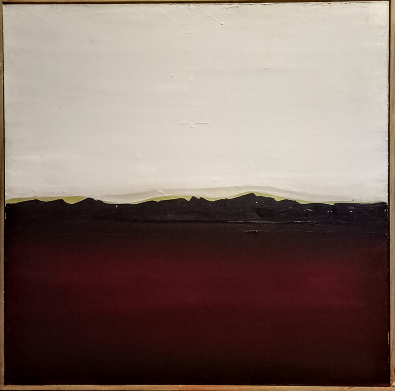 (CreativeWork) Red Sands (Framed)  by Josephine Ann Pitsiava. acrylic-painting. Shop online at Bluethumb.