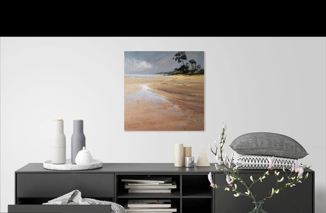 (CreativeWork) A quiet moment at Ricketts Point. by Vivi Palegeorge. #<Filter:0x00007fef2ca403a8>. Shop online at Bluethumb.