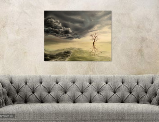 (CreativeWork) Solitude by Cathy Yarwood - Mahy. #<Filter:0x00007f00eb79ec60>. Shop online at Bluethumb.