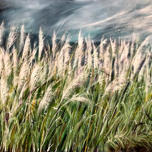 (CreativeWork) Sugar Country. by Marion Rispin. arcylic-painting. Shop online at Bluethumb.