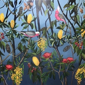 (CreativeWork) Exotic Australian garden  by Ron Brown. #<Filter:0x00007fe82ce73058>. Shop online at Bluethumb.