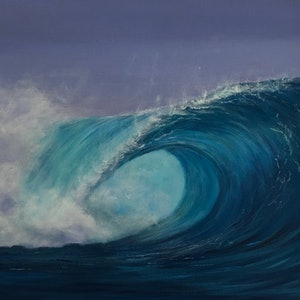 (CreativeWork) Tubular  by Ann Steer. arcylic-painting. Shop online at Bluethumb.