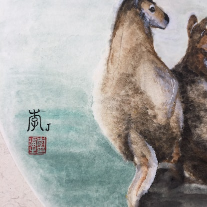 (CreativeWork) Back to the pure past【回到从前】 by Jade Li. Watercolour Paint. Shop online at Bluethumb.