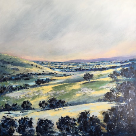 (CreativeWork) Looking North by Ben Musgrove. Acrylic Paint. Shop online at Bluethumb.