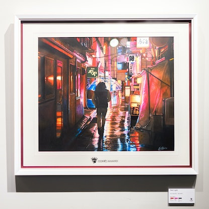 (CreativeWork) Red Light - Original Framed by Erin Nicholls. #<Filter:0x00007f7cb4aa8038>. Shop online at Bluethumb.