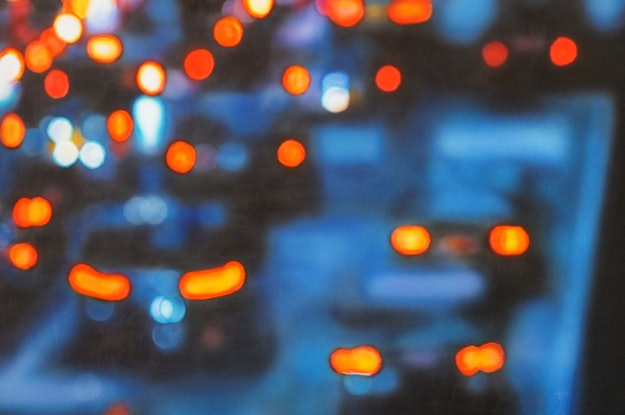 (CreativeWork) The Commuters by Todd Simpson. Acrylic Paint. Shop online at Bluethumb.