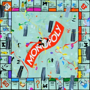 (CreativeWork) Monopoly Mayhem by Ben Tankard. #<Filter:0x0000556b34a3d8e8>. Shop online at Bluethumb.