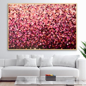 (CreativeWork) Lucy 152x102 framed large abstract by Sophie Lawrence. arcylic-painting. Shop online at Bluethumb.