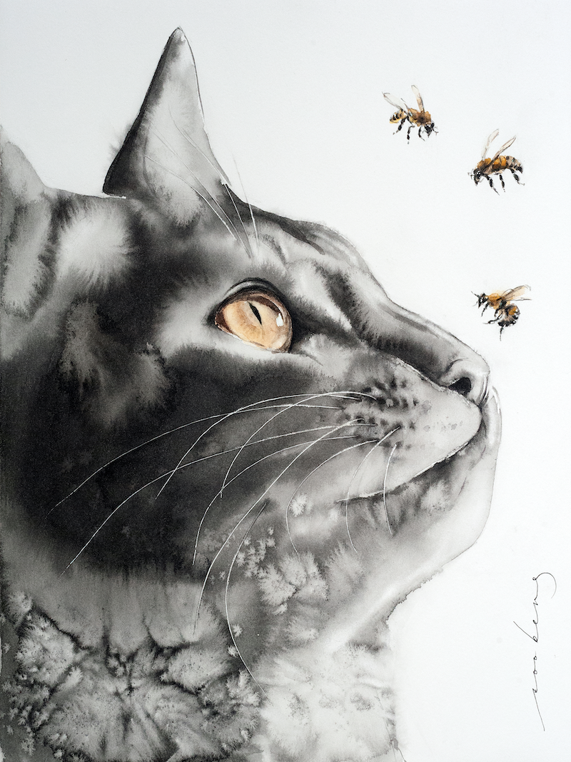 (CreativeWork) Buzzz.. by Soo Beng Lim. Drawings. Shop online at Bluethumb.