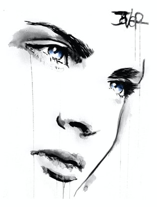 (CreativeWork) MISTY EYED by loui jover. #<Filter:0x00007f51492a3248>. Shop online at Bluethumb.