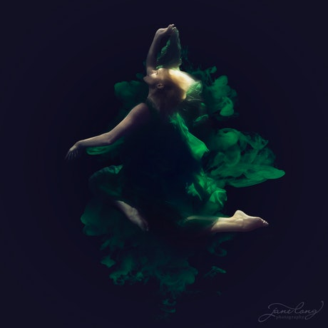 (CreativeWork) Ink - Emerald I Ed. 1 of 25 by Jane Long. Photograph. Shop online at Bluethumb.