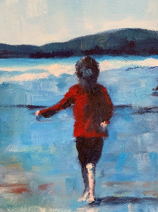 (CreativeWork) The Singing Brother - Koekohe Beach  by James Wild. Oil Paint. Shop online at Bluethumb.