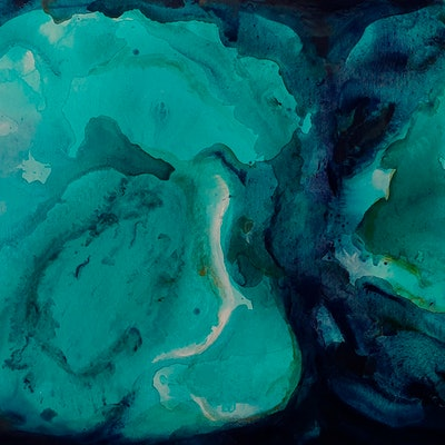 (CreativeWork) Abyss by Emily Snow. acrylic-painting. Shop online at Bluethumb.