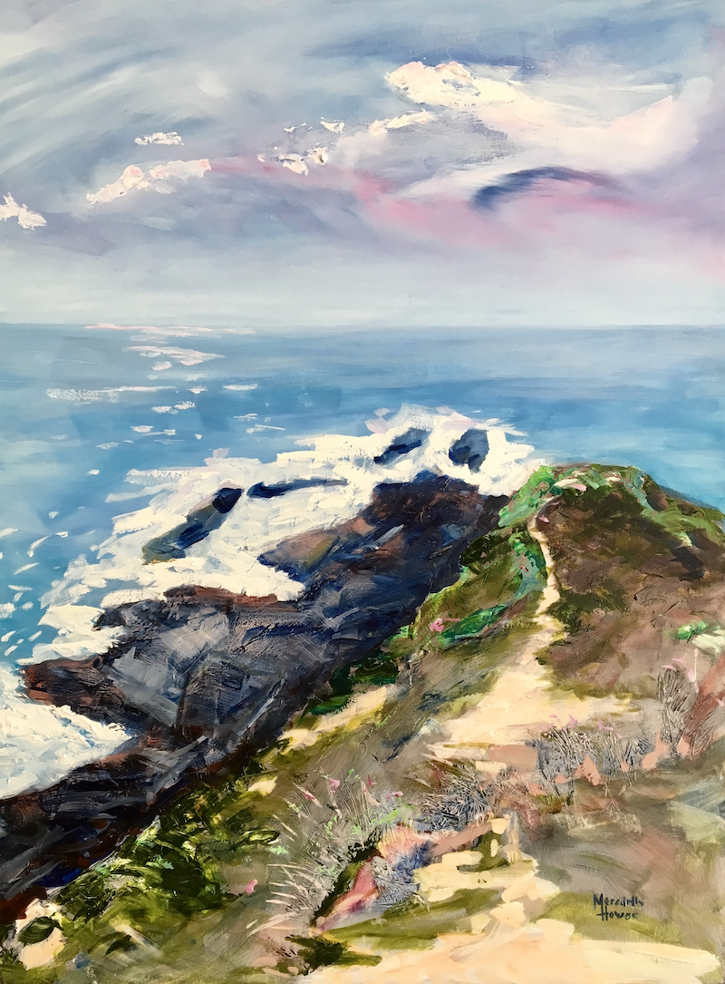 (CreativeWork) Headland by Meredith Howse. acrylic-painting. Shop online at Bluethumb.