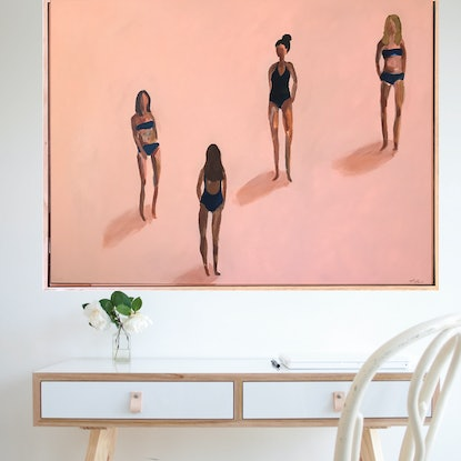 (CreativeWork) Young And Beautiful  by Marnie McKnight. Acrylic. Shop online at Bluethumb.