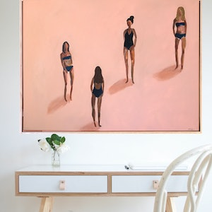 (CreativeWork) Young And Beautiful  by Marnie McKnight. acrylic-painting. Shop online at Bluethumb.