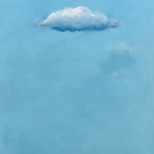(CreativeWork) Turquoise by Donna Christie. oil-painting. Shop online at Bluethumb.