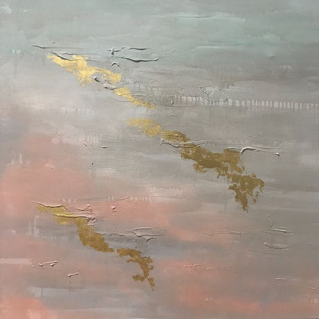 (CreativeWork) REFLECTIONS AT DAWN by Francesca Gnagnarella. Acrylic Paint. Shop online at Bluethumb.