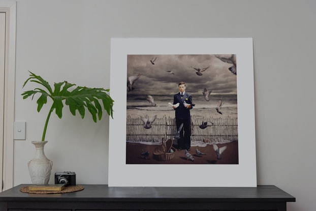 (CreativeWork) Dancing with Costica - Flock Ed. 6 of 20 by Jane Long. Photograph. Shop online at Bluethumb.