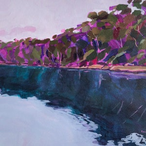 (CreativeWork) From The Water V by Kate Gradwell. Acrylic Paint. Shop online at Bluethumb.