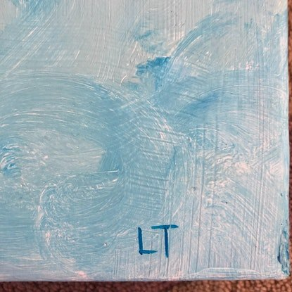 (CreativeWork) Baby It's You by Lisa Turner. Acrylic Paint. Shop online at Bluethumb.