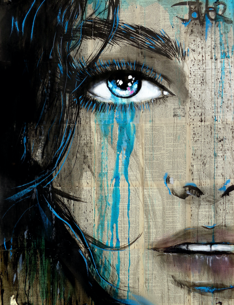 (CreativeWork)  A SUBTLE EDGE by loui jover. drawing. Shop online at Bluethumb.