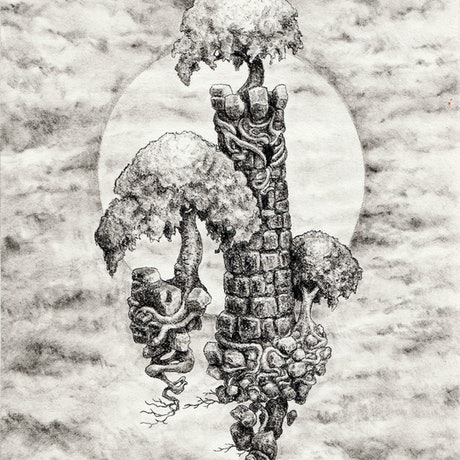 (CreativeWork) Rook by Lewis Smart. Drawings. Shop online at Bluethumb.
