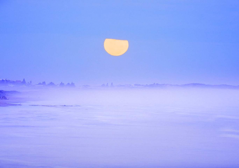 (CreativeWork) Coorong Full Moon Ed. 1 of 1 by Alex Frayne. Photograph. Shop online at Bluethumb.