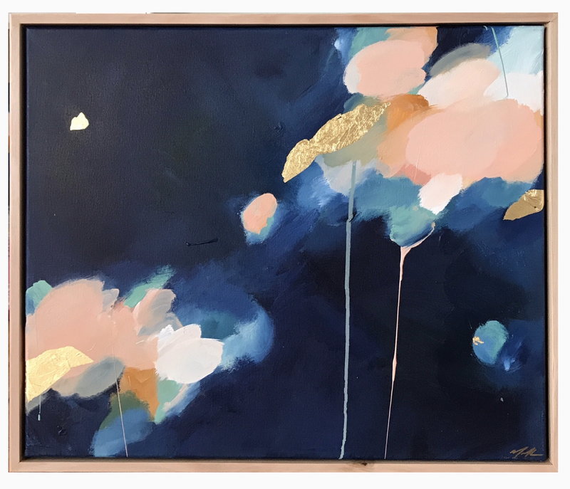 (CreativeWork) Honey In The Sky by Marnie McKnight. Mixed Media. Shop online at Bluethumb.