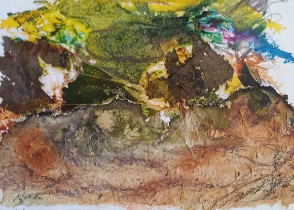 (CreativeWork) The Power of Nature - spectacular landscapes oc46 by Ruby Purple. Mixed Media. Shop online at Bluethumb.